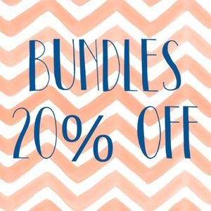 Bundles 20% Off